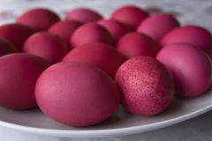 Easter Eggs, Mestia, Georgia Stock Photography