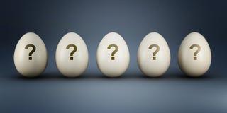 Easter eggs mistery Stock Photo