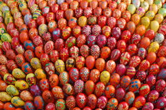 Easter eggs  monument Stock Photography