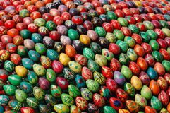 Easter eggs  monument Royalty Free Stock Photos