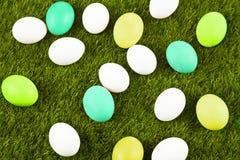 Easter eggs. Easter motive. White Easter Bunny Royalty Free Stock Photos