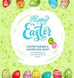 Big green holiday egg Royalty Free Stock Photos