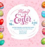 Big pink holiday egg Stock Photography