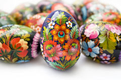 Free Easter Eggs On White Royalty Free Stock Photo - 16208615