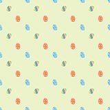 Easter eggs ornaments seamless pattern Stock Photography