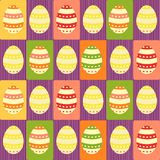 Easter eggs - packing paper Stock Image