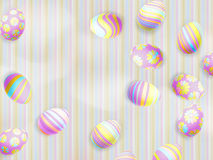 Easter eggs painted. EPS 10 Royalty Free Stock Image