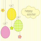 Easter eggs patchwork Royalty Free Stock Photography