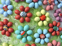 Easter Eggs pattern Royalty Free Stock Photography