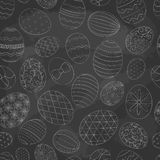 2018.03.06_easter eggs pattern2 royalty free illustration