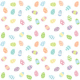 Easter eggs pattern Royalty Free Stock Photo