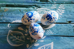 Easter eggs photo Stock Images