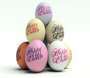 Easter eggs. Stock Image