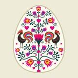 Easter eggs. Polish pattern folk  - Easter eggs Stock Photos