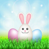 Easter eggs, rabbit Royalty Free Stock Images