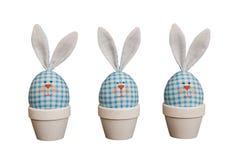 Easter eggs - rabbits Stock Photo
