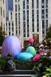 Easter Eggs in Rockefeller Center Stock Image