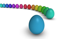 Easter Eggs Background Royalty Free Stock Photo