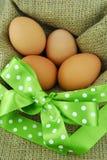Easter eggs rural Stock Photo
