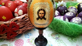Easter eggs - Russian Icon-Egg Royalty Free Stock Photo