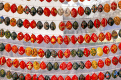 Easter Eggs Saint Sophia Sofia Cathedral Kiev Ukraine. Ukrainian Eastern Eggs Saint Sophia Sofia Cathedral Kiev Ukraine. Saint Sophia is oldest Cathedral and stock photo