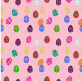 Easter eggs seameless Royalty Free Stock Photography