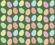 Easter eggs seamless pattern Stock Images