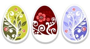Easter eggs set Royalty Free Stock Photo