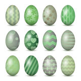 Easter eggs set Stock Images
