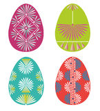 Easter eggs. Set of Easter eggs. Suitable for printing and laser cut as well for digital usage Royalty Free Stock Image