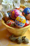 Easter eggs spring holiday Royalty Free Stock Images