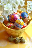 Easter eggs spring holiday Stock Photography