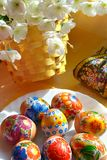 Easter eggs spring holiday Royalty Free Stock Photos