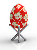 Easter eggs on stand Stock Image