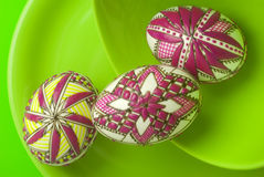 Easter eggs still-life Royalty Free Stock Photo