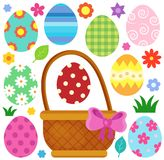 Easter eggs thematic image 1 Royalty Free Stock Images