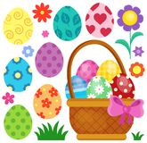 Easter eggs thematic image 2 Royalty Free Stock Photo