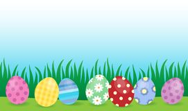 Easter eggs thematic image 4 Royalty Free Stock Photo