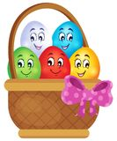 Easter eggs thematic image 5 Stock Image