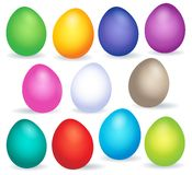 Easter eggs thematic image 6 Stock Images