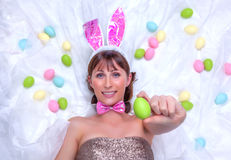 Easter eggs time Royalty Free Stock Photography