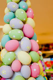 Easter eggs tree. A easter eggs tree decoration Royalty Free Stock Photo