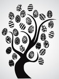 Easter eggs tree Royalty Free Stock Images