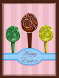 Easter Eggs Trees Royalty Free Stock Image