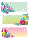 Easter eggs vector Stock Images