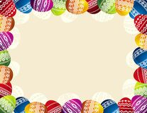 Easter eggs, vector Royalty Free Stock Images
