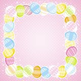 Easter eggs, vector Stock Images