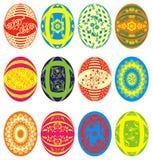 Easter eggs, vector. Easter eggs,  illustration Royalty Free Stock Image