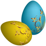 Easter eggs. Vector Royalty Free Stock Photo