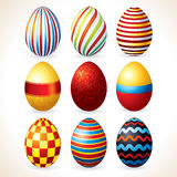 Easter Eggs. Vector Clip Art Royalty Free Stock Photography